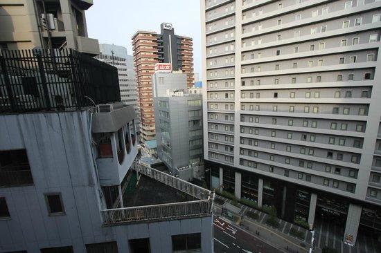 RIHGA Nakanoshima Inn : 窓からの眺め1010
