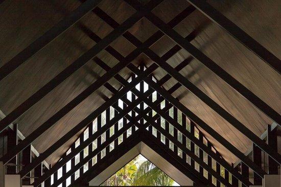 Twinpalms Phuket: Das Dach der Eingangshalle