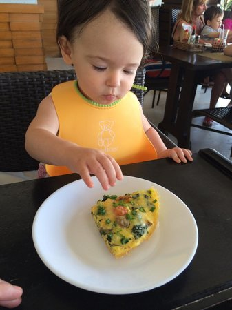 Mayas : Even my 15month old enjoyed the frittata
