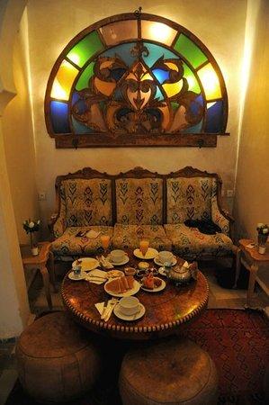 Riad Malaika : petit déjeuner copieux