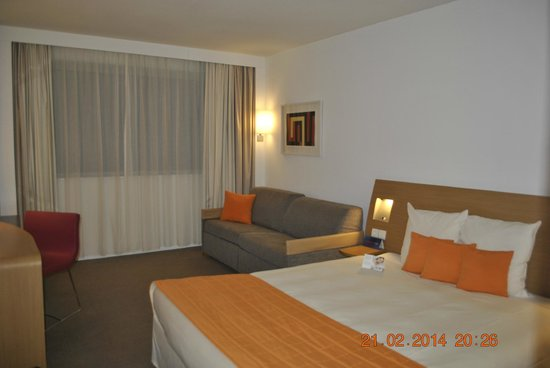 Novotel Bucarest City Centre: standard room