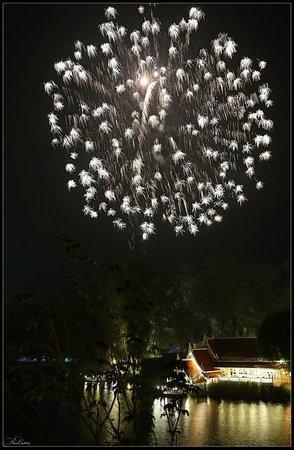 Angsana Laguna Phuket : Fireworks