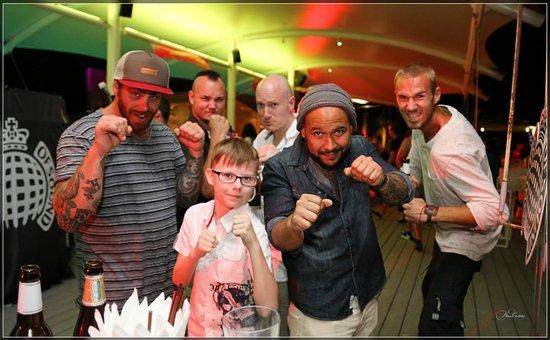 Angsana Laguna Phuket: New friends of my son! Party Ministry of Sound (Xana)