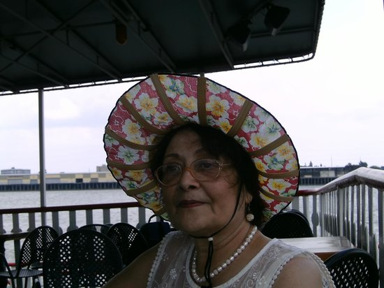 Steamboat Natchez: On board--enjoying the journey
