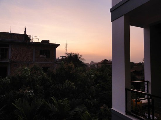 Diamond D'Angkor Boutique: Sunrise from Room