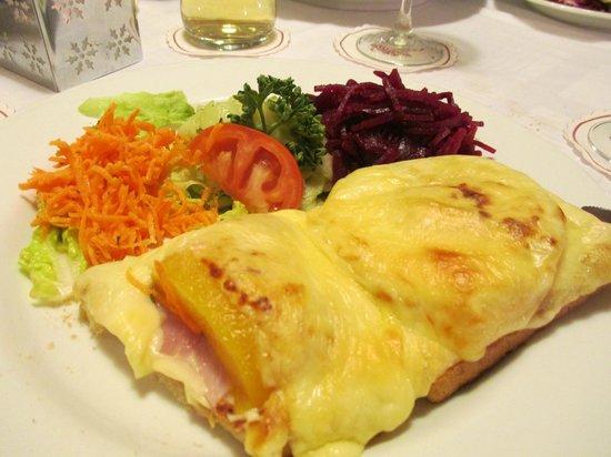 Hotel Adler-Post Obertal : Toast