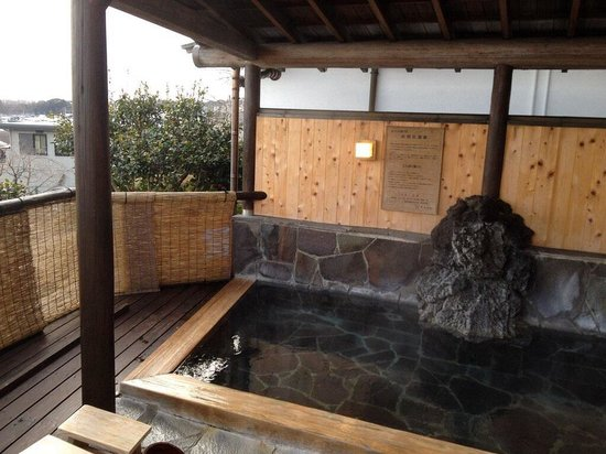 Ryokan Tachibana : Outdoor onsen (available for private booking)