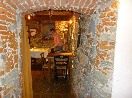 Sassello, Itália: sala ristorante