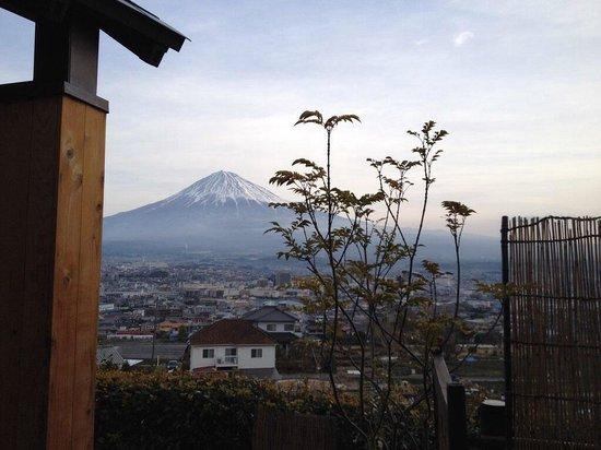 Ryokan Tachibana : View from onsen