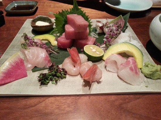 Hyatt Regency Hakone Resort and Spa : Dinner at their Japanese restaurant