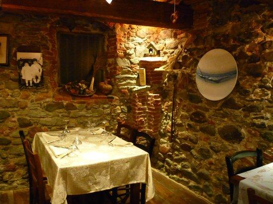 Sassello, Italien: sala interna