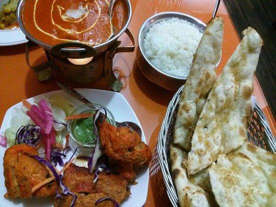 Jyoti Indian Restaurant: 2명을 위한 세트