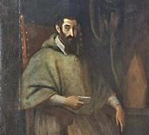 Museo e Fondazione Palazzo Bondoni Pastorio: ritratto Abate Fausto Pastorio