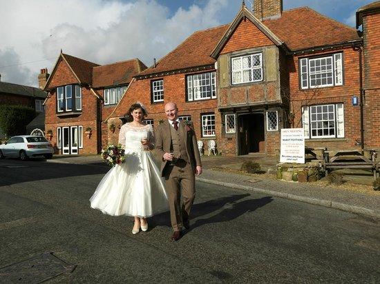 Bell Inn Ticehurst: West Sussex Best Kept Wedding Venue