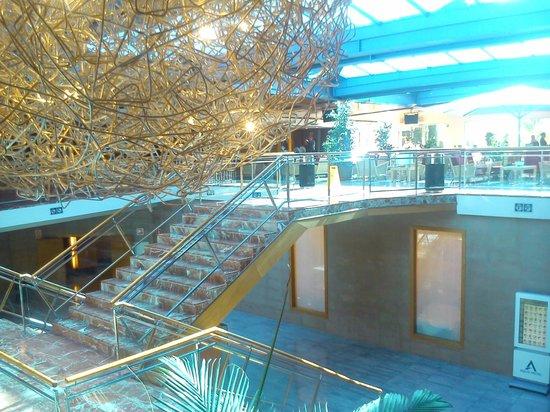 Aqua Hotel Onabrava & Spa: entrada holl
