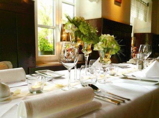 Tischdeko Bild Von Restaurant Harmonie Lichtenberg Tripadvisor
