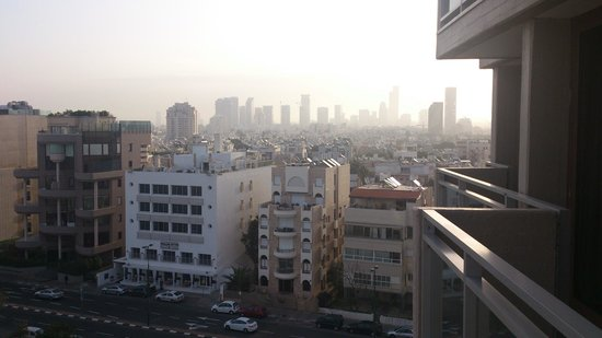 Hilton Tel Aviv: view from balcony