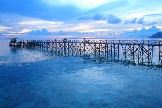 Pom Pom Island Resort & Spa: Sunset at Pom Pom island