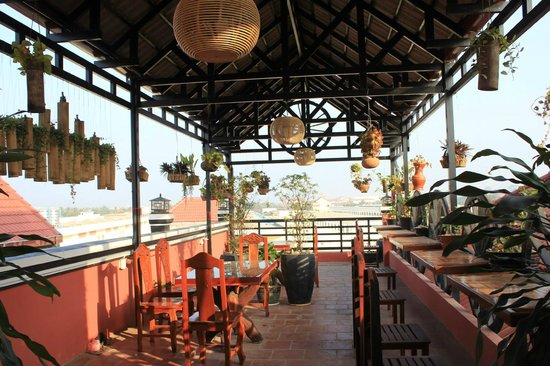 Keanthay Guesthouse: Roof Top