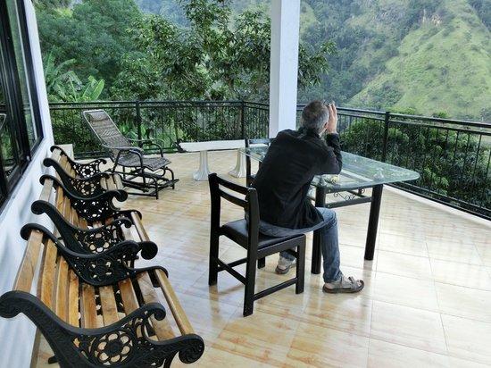 Ella Mount Heaven Hotel: 6 terrasse