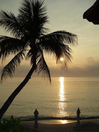 Samui Paradise Chaweng Beach Resort: Beautiful sunrise