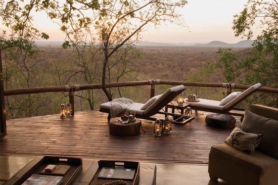 Madikwe Hills Private Game Lodge: Room 7 Lounge view