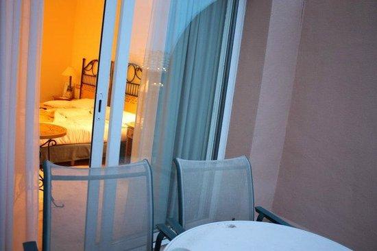 Hotel Alicante Golf: Vue depuis le balcon de notre chambre