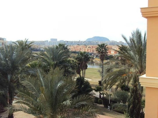 Hotel Alicante Golf : La super jolie vue