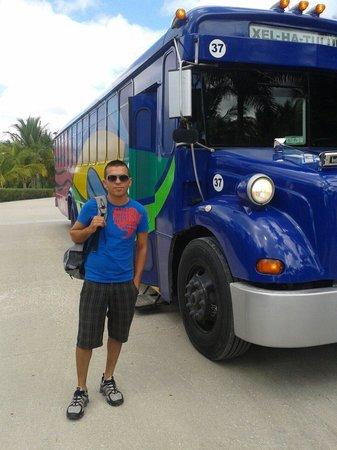 Parque Xplor: El transporte a xplore