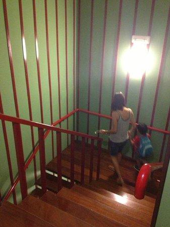 Palacio De Los Vallados: Escaleras