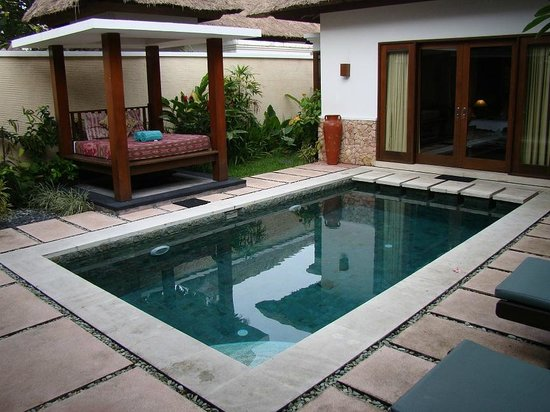 Puri Mas Boutique Resort & Spa: Our private pool - very secluded