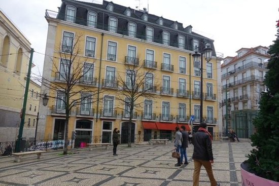 Bairro Alto Hotel: A nice, historic place, well restored