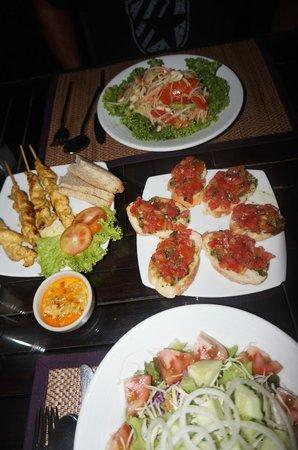 La Dolce Vita - Ristorante & Lounge Beach Bar: Plats du soir