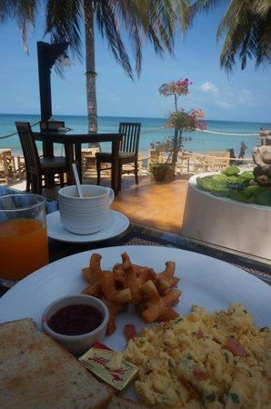 La Dolce Vita - Ristorante & Lounge Beach Bar: Terrasse