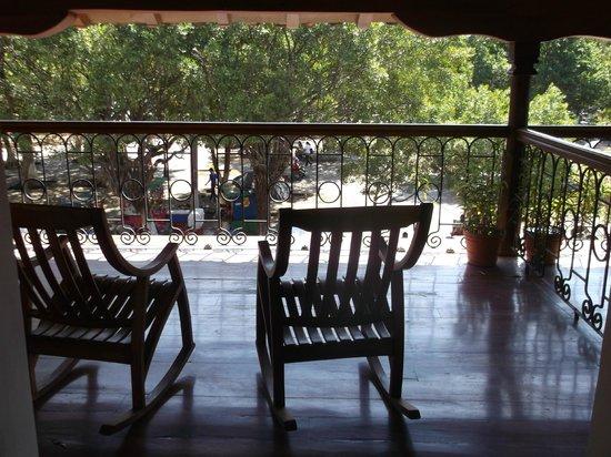 Hotel Plaza Colon: room balcony
