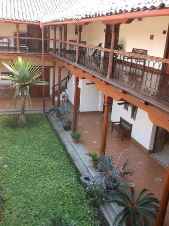 Hotel Plaza Colon : interior of hotel