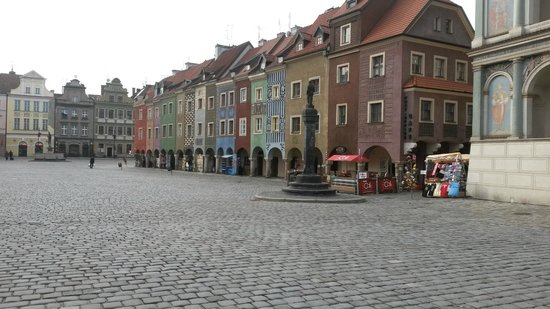 Old Market Square: Market place