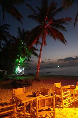 La Dolce Vita - Ristorante & Lounge Beach Bar: Vue depuis la terrasse