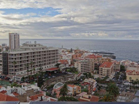 Hotel Puerto de la Cruz: Blick vom Balkon