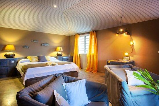 Karibuni Lodge: yellow room