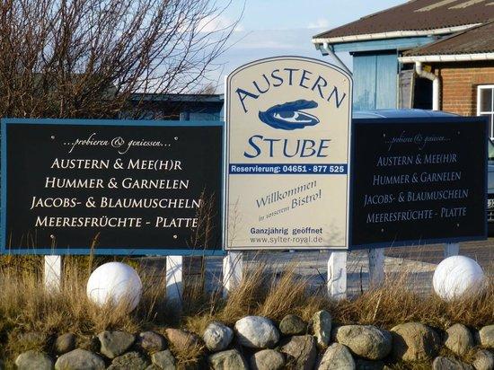Austernmeyer Restaurant & Probierstube: Eingang