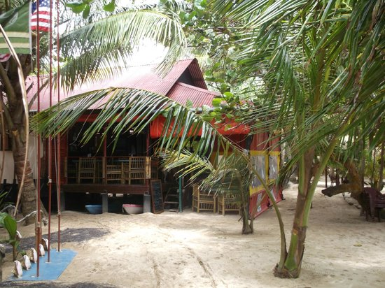 Little Corn Beach and Bungalow: restaurant