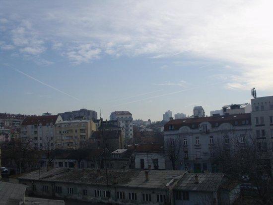 Cherry Hostel: Balcony view