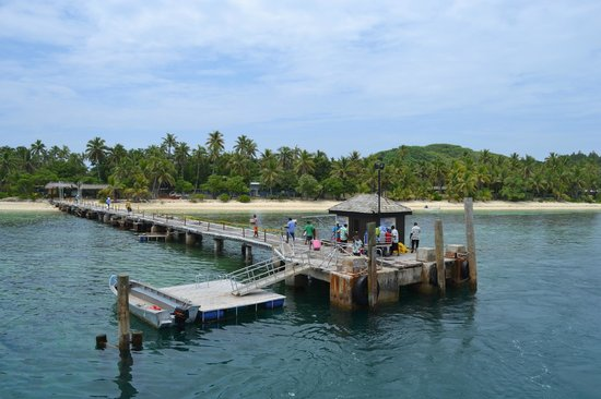 Mana Island Resort : Wharf