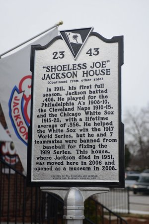 Shoeless Joe Jackson Museum: The man