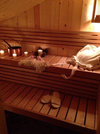 Hotel La Sponda : Sauna hotel