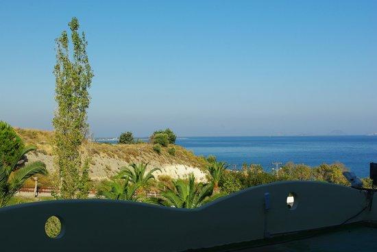 Kipriotis Panorama Hotel & Suites : Widok z pokoju na wprost