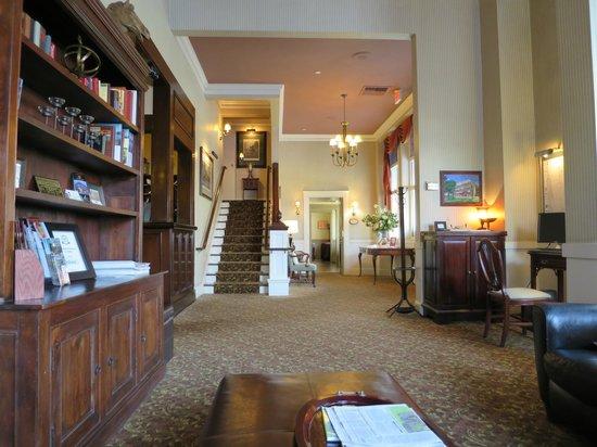 Hotel La Rose: The lobby