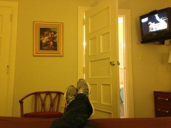 Hotel Melia Ponce: big ol'wooden doors