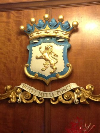 Hotel Melia Ponce: hotel coat of arms